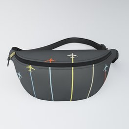 Retro Airplanes 06 Fanny Pack