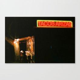 Tacos Arizas Canvas Print