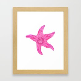 HAWAIIAN STARFISH Framed Art Print
