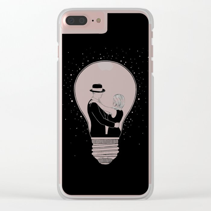 We light up the dark Clear iPhone Case