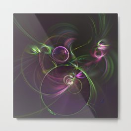 The Motion of Celestial Bodies Metal Print