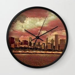 Chitown Wall Clock
