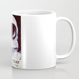 Vintage astronaut training poster Coffee Mug