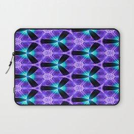 Chainlink Pattern (purple) Laptop Sleeve
