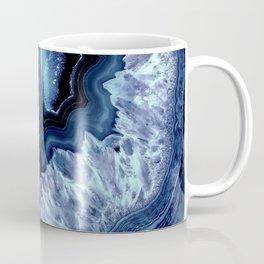 Dark Teal Quartz Crystal Coffee Mug