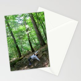 Forest Yoga Stationery Cards