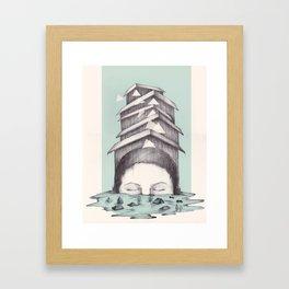 Isaac Framed Art Print
