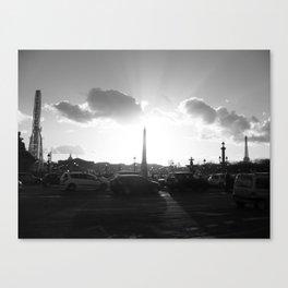 Shinning Concorde Canvas Print