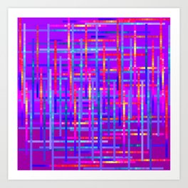 Bright Threads Amethyst Jewel Tones Art Print