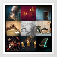 voyage Art Prints featuring VOYAGE by lucborell
