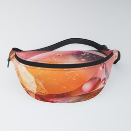 Red Shapes Fanny Pack