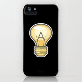 Atheism Logo iPhone Case