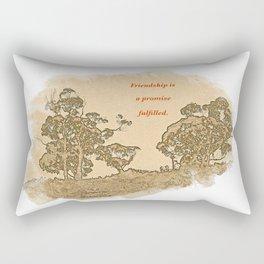 """Trees Of Catalina #2""/Simple Friendship Rectangular Pillow"