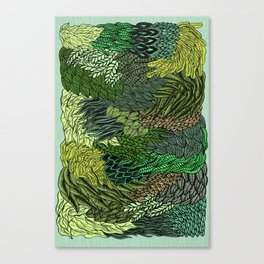 Leaf Cluster Canvas Print
