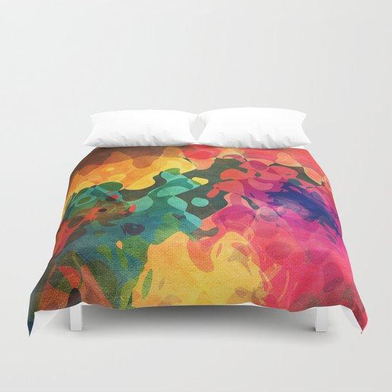 Color y psicodelia Duvet Cover