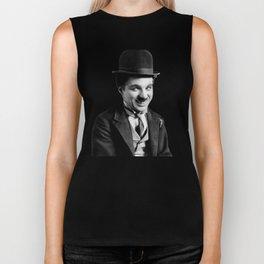 Charlie Chaplin Old Hollywood Biker Tank