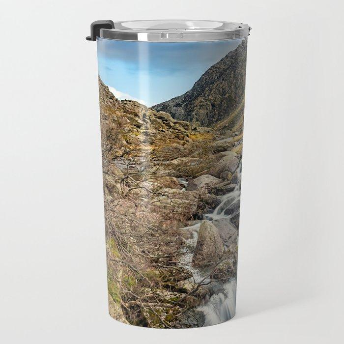 Tryfan and Ogwen Falls Travel Mug