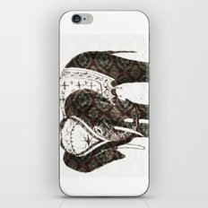 Festive Elephant love iPhone & iPod Skin