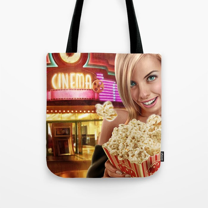CINEMA POP Tote Bag