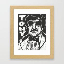 Tony Clifton Framed Art Print