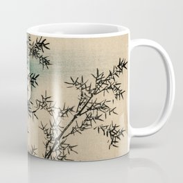 Bamboo Branches Traditional Japanese Flora Coffee Mug