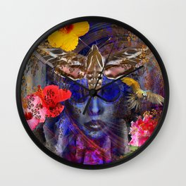 The Search for Hibiscus Life Wall Clock
