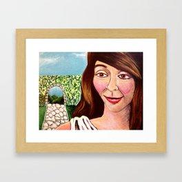 Eirene (Irene), The Peace Goddess Framed Art Print