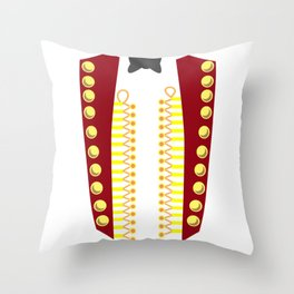 RINGMASTER CIRCUS COSTUME SHOWMAN Costume Suit Throw Pillow