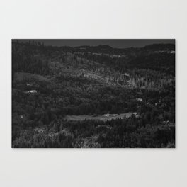 Hurricance ridge overlook Canvas Print