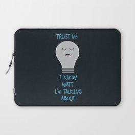 I Know Watt I'm Talking About Laptop Sleeve