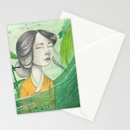 The Lonely Traveler II Stationery Cards