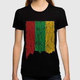 Lithuania flag used look gift idea T-shirt