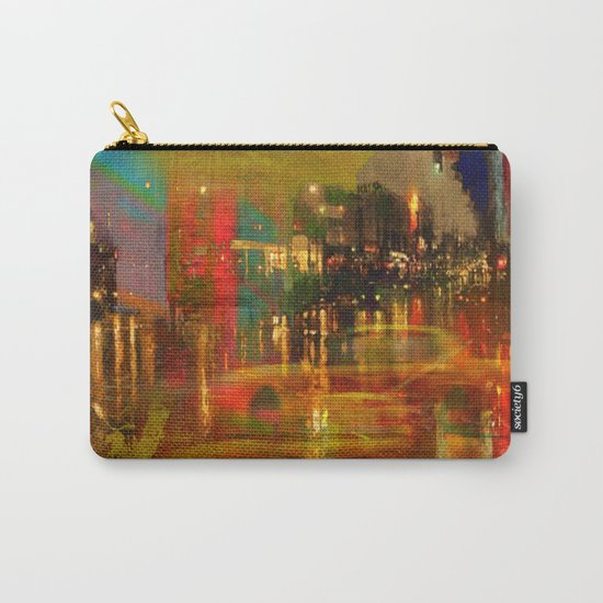 The yellow city of taxis Carry-All Pouch