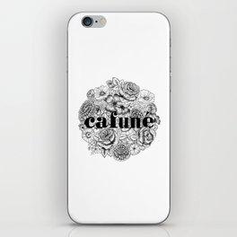 Cafuné iPhone Skin
