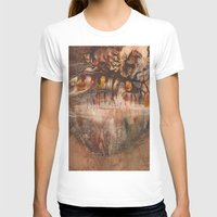 middle earth T-shirts featuring Middle of the Earth by Loredana