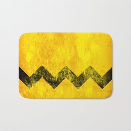 Distressed Charlie Brown Bath Mat