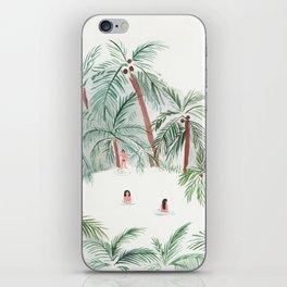 Night Swim iPhone Skin