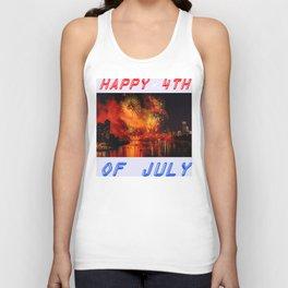 HAPPY BIRTHDAY, USA Unisex Tank Top