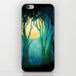 Dance By The Light Of The Full Moon iPhone Skin