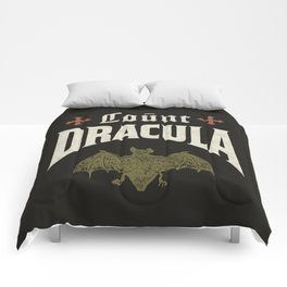 Count Dracula Comforters