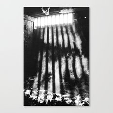 Light Beams Canvas Print