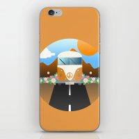 van iPhone & iPod Skins featuring Love Van by Moremo