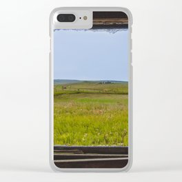 View from the Yellow House, Arena, North Dakota 2 Clear iPhone Case