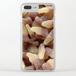 Yummy Fizzy Cola Bottles Clear iPhone Case
