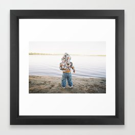 Lake Wonder Framed Art Print