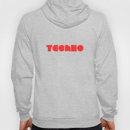 Techno Rave Music Festival Club Music Party Gift Hoody