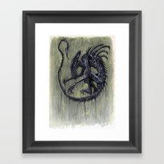 Xenomorph Framed Art Print