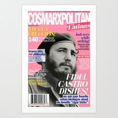 COSMARXPOLITAN, Issue 7 Art Print