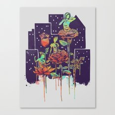 City of Flower Canvas Print