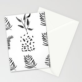 shapes from nature Stationery Cards